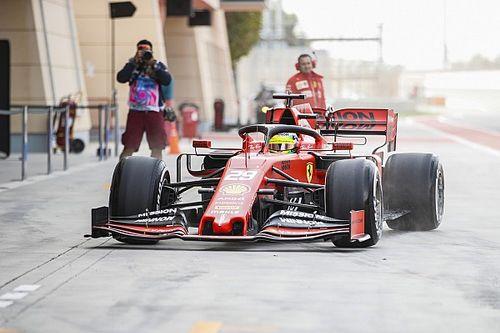 Schumacher geber mobil F1 Ferrari di Bahrain
