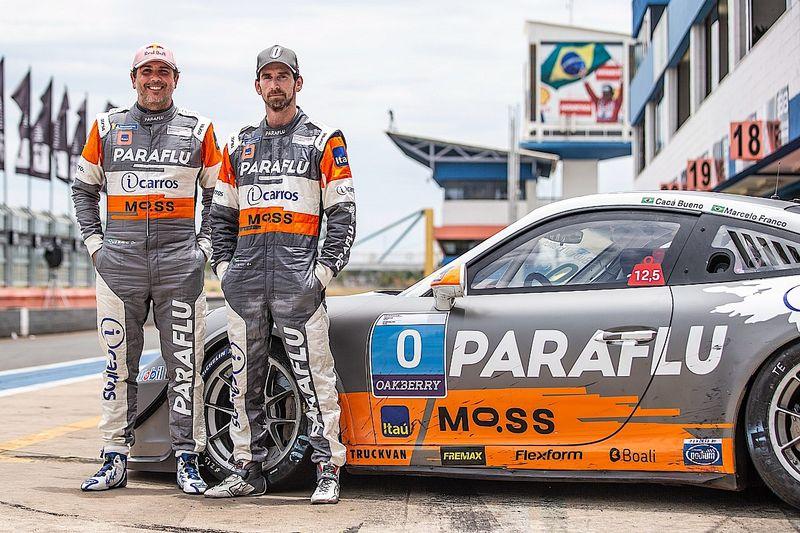 Porsche: Cacá Bueno e Marcelo Franco largam em 3º na classe Trophy da Endurance em Goiânia