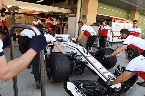 Räikkönen pályán a Sauberrel Abu Dhabiban