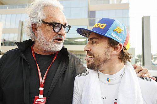 Karena Gemar Bersepeda, Briatore Pernah Ancam Kurung Alonso