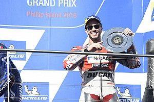 """50. MotoGP-Podium bei Australien-""""Test"""": Dovizioso überrascht sich selbst"""