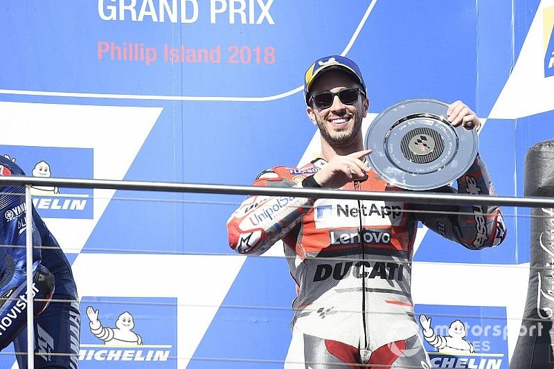 50. MotoGP-Podium bei Australien-