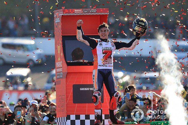 Marquez vijfvoudig MotoGP-wereldkampioen na overwinning in Japanse GP