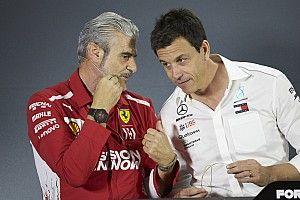 A Mercedes csapatfőnöke nem élvezte a Ferrarival vívott küzdelmet