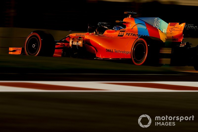 Las mejores fotos del viernes del GP de Abu Dhabi