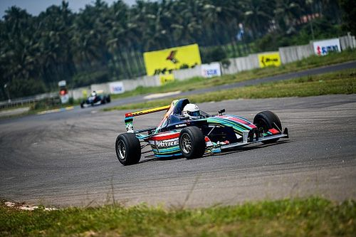 Coimbatore JK Tyre: Uma Shankar scores first win of 2018