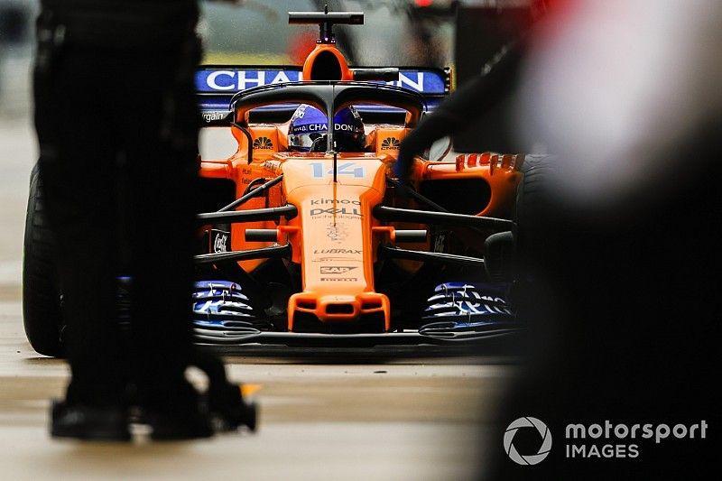 Rien n'est fait pour le test d'Alonso avec la McLaren 2019