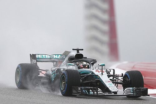 Amerika GP 2. antrenman: Hamilton ve Mercedes lider