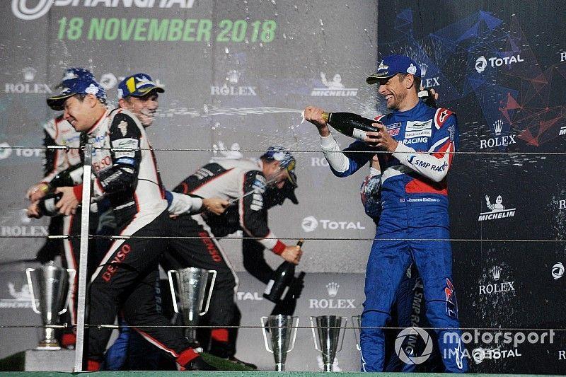 "Button ""enjoying racing"" again after first WEC podium"
