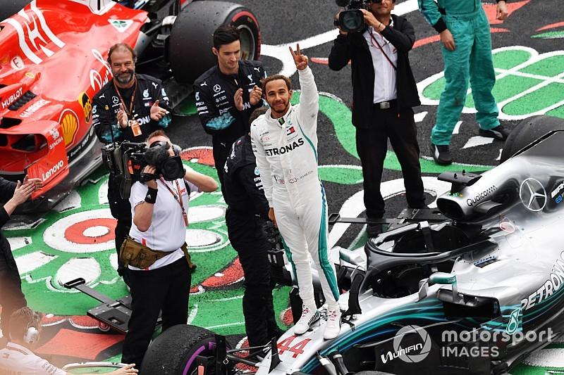 Hamilton garante penta da F1 no México; Verstappen domina