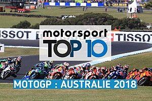 Vidéo - Le top 10 du GP d'Australie