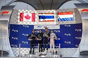 F2 Sochi: DAMS 1-2, Gelael dan Norris gagal finis