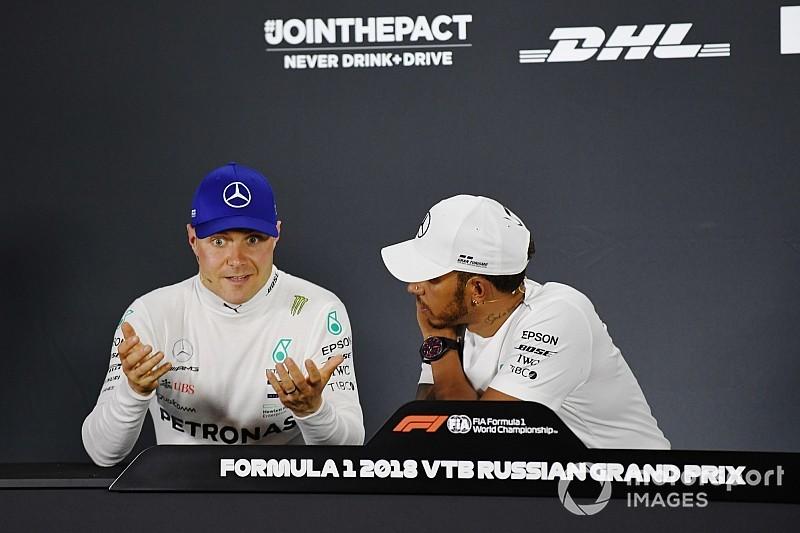 Bottas: Kazanmam için Hamilton'un şampiyon olması gerekmez