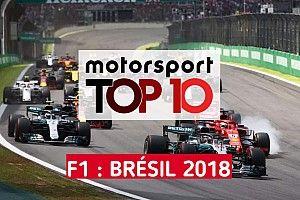Vidéo - Les 10 faits marquants du GP du Brésil