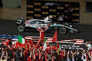 Raikkonen gana en Estados Unidos y Hamilton tercero