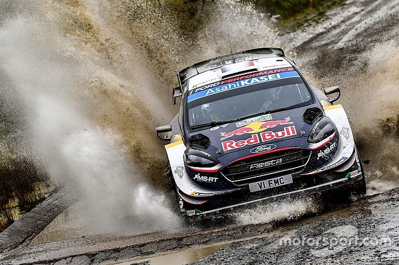 WRC Rallye Wales: Sebastien Ogier macht Titelkampf spannend
