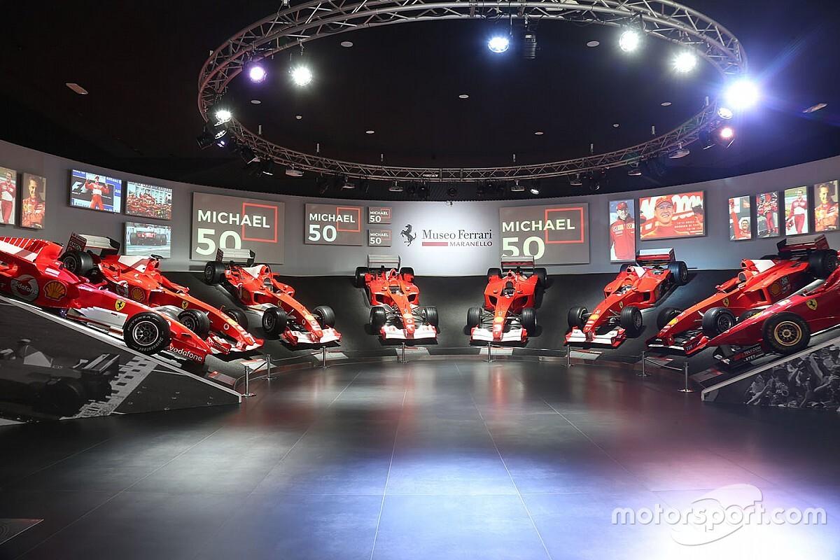 """Michael 50"": aperta al Museo Ferrari la mostra dedicata al campione tedesco"