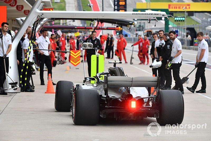 Amerika GP'nin en hızlı pit stopu Mercedes'ten geldi