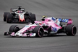Haas porte réclamation contre Force India