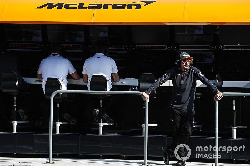 McLaren dice que no estarán perdidos sin la referencia de Alonso
