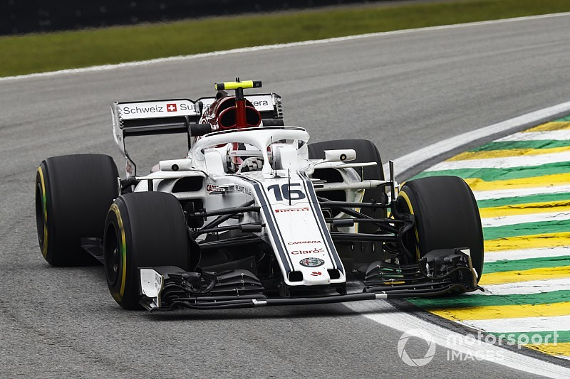 Leclerc says Sauber progress not down to upgrades