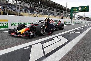 El extintor de un comisario en México provocó el daño en el turbo de Ricciardo