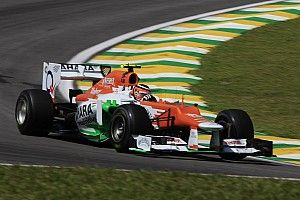 "Hulkenberg's ""heart was bleeding"" watching 2012 Brazil GP"