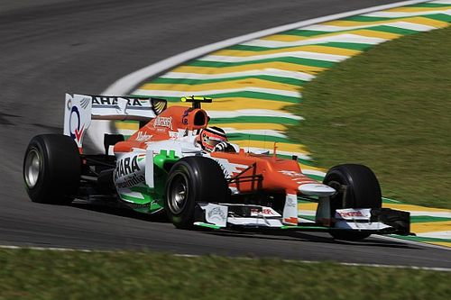 "Hulkenberg's ""heart was bleeding"" watching 2012 Brazil GP"