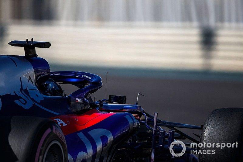 Квят провел обкатку новой Toro Rosso: видео