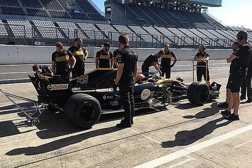 Test Pirelli: la Renault ha girato a Suzuka con il collaudatore Aitken