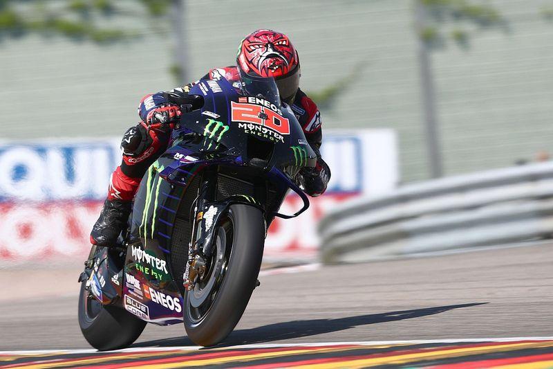 Hasil FP3 MotoGP Jerman: Quartararo Memimpin, Vinales Temani Mir ke Q1