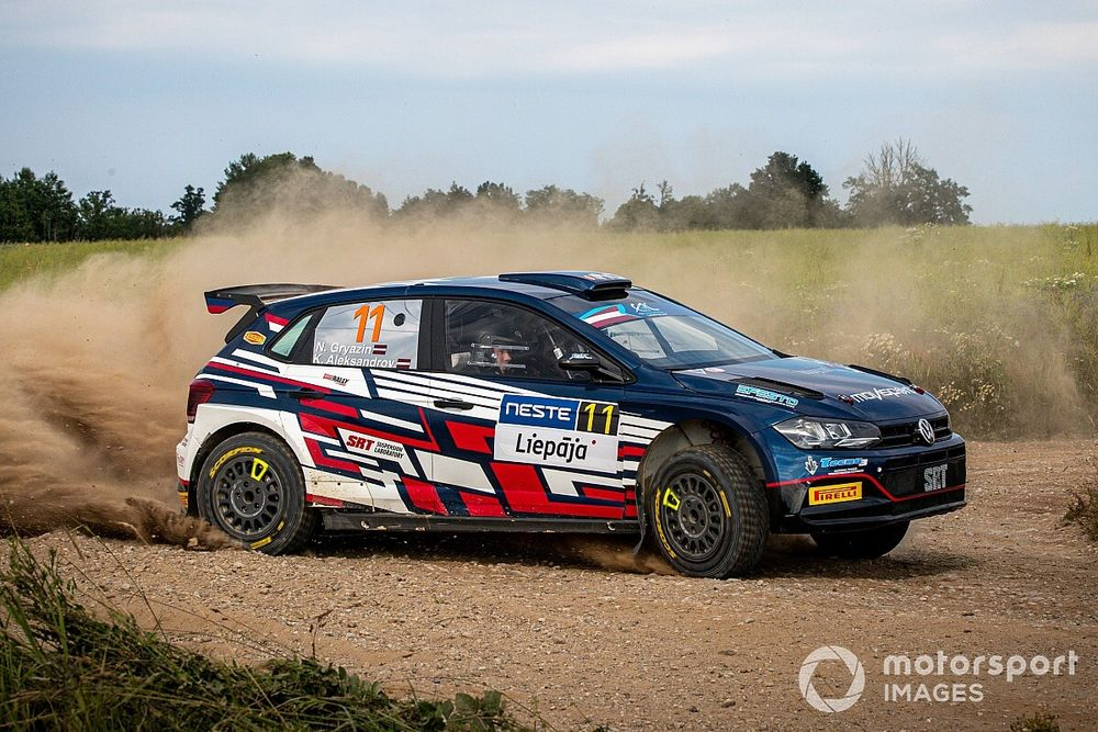 ERC: Gryazin domina la Tappa 1 del Rally Liepaja