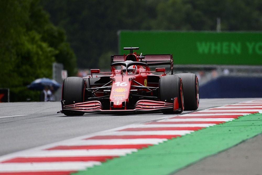 Leclerc Belum Puas dengan Kecepatan Ferrari