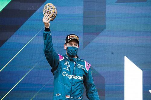 Vettel offre à Aston Martin son premier podium
