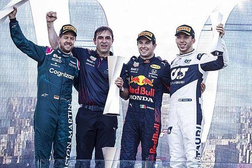 Course - Pérez émerge du chaos, zéro pointé pour Verstappen et Hamilton!
