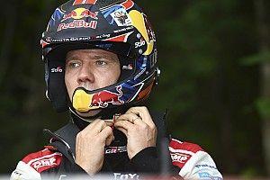 WRC, penalità e multa per Ogier: non ha allacciato bene il casco