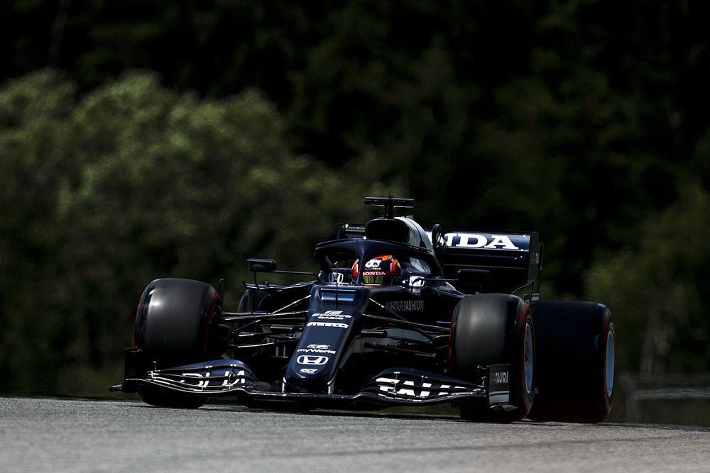F1シュタイアーマルクFP1速報:フェルスタッペン首位。アルファタウリ好調、角田裕毅5番手