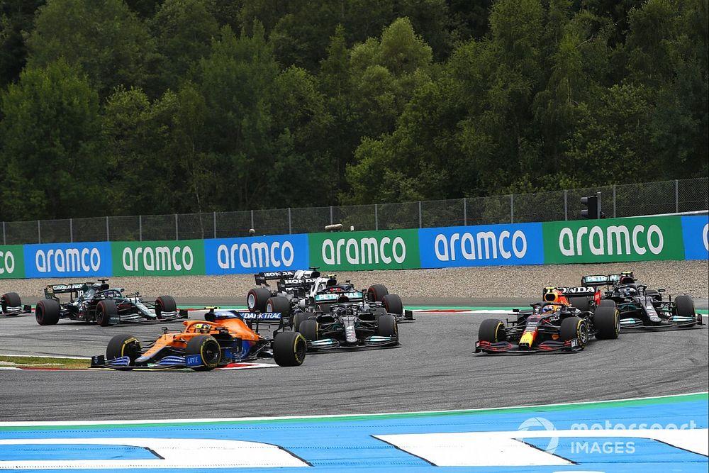 Brown cree que la F1 sentó un mal precedente en el GP de Austria