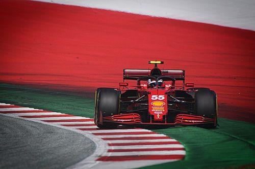 """Sainz: """"Ricciardo superato perché la SF21 è super in curva"""""""