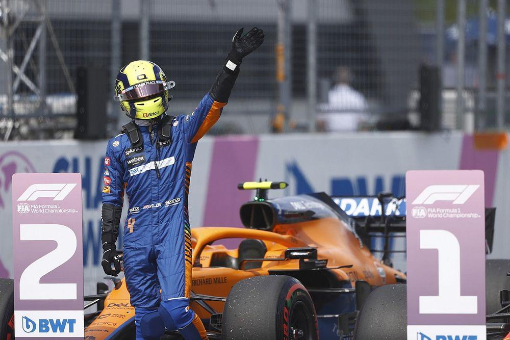 Norris n'hésitera pas à attaquer Verstappen pour la victoire