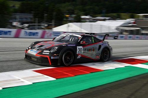 Georgios Frangulis baixa 0s9 em seu segundo dia na Porsche Supercup na Áustria