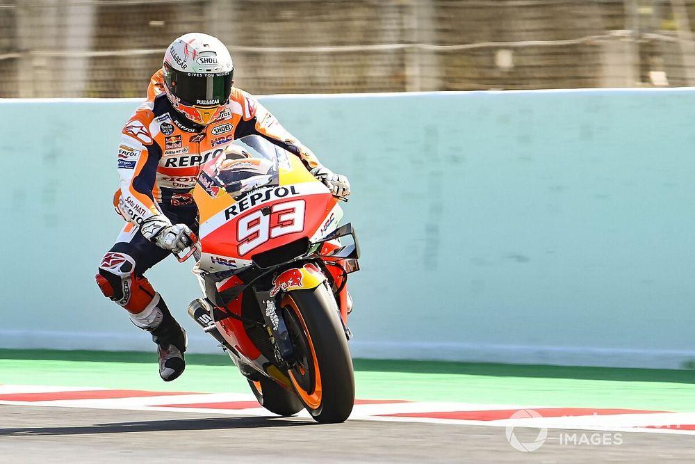 """Márquez: """"Pude volver a hacer malabares encima de la moto"""""""