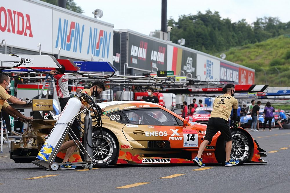 【スーパーGT】ポイントリーダーの14号車スープラ、サクセスウエイトは早くも70kgに到達「表彰台の手前までは行きたい」と山下健太