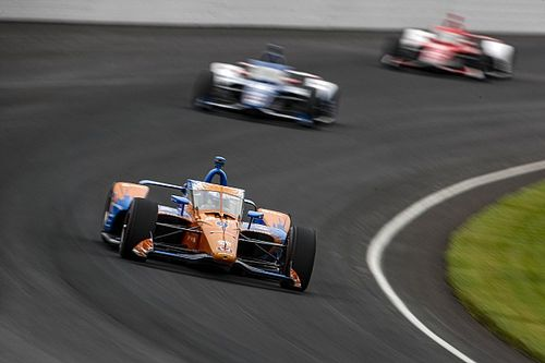 Indy: Favorito à vitória nas 500 Milhas, Dixon cai para o fim com parada problemática