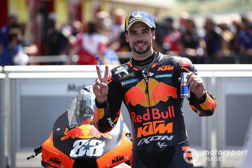 ミゲル・オリベイラ、イタリアGP2位に「KTMには表彰台が必要だった。凄く良い結果」