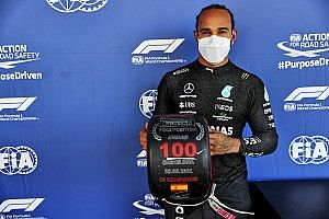 Spanish GP: Hamilton secures 100th F1 pole position