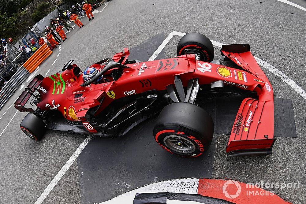 F1: Ferrari confirma pole de Leclerc em Mônaco; caixa de câmbio não será trocada