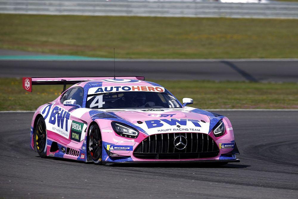 Gotz leads Lawson, Albon as DTM testing ends at Lausitzring