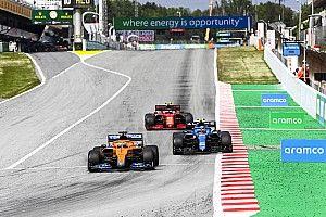 ساينز ليس راضيًا للغاية عن سباقه في إسبانيا
