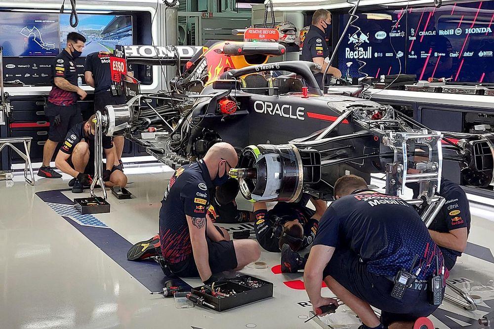 Nieuwe Honda-motor en extra gridstraf voor Verstappen in Rusland